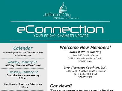 e-Connection | Jefferson City Chamber